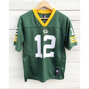 NFL Green Bay Packers Arron Rodgers Jersey Youth L